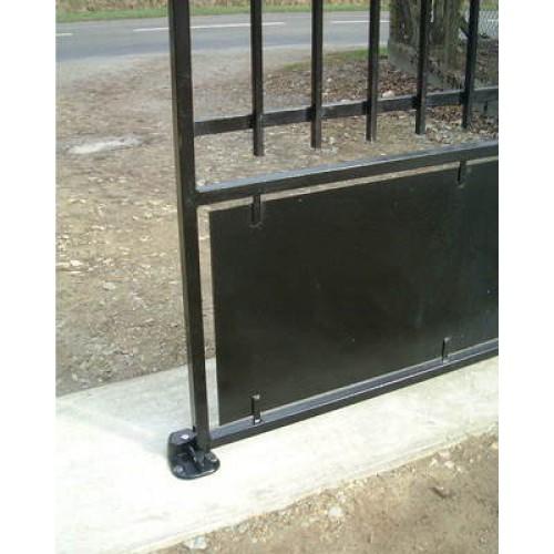 sabot blocportail ferrures de portails quincaillerie. Black Bedroom Furniture Sets. Home Design Ideas