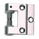 Fiche en applique pour porte en verre toutes huisseries - 3206