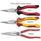 Pinces Demi Rondes - Droite ou Courbée - Pro / Electric / Classic