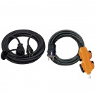 Rallonges Électriques câble IP44 H07RN-F