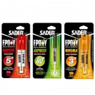 Colles Bi-composants Epoxy Sader
