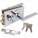 Serrure de milieu 1300 série Classic avec la gâche plate et 3 clés